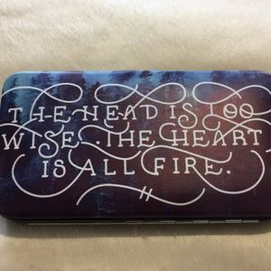 Handbags - Quote wristlet wallet